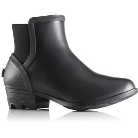 Sorel W's Janey Chelsea Boots Black/Sea Salt